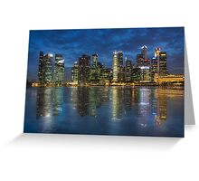 Marina Bay Greeting Card
