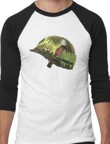 Born to Hide helmet Men's Baseball ¾ T-Shirt