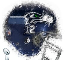 SUPERBOWL 48 CHAMPIONS by Daniel-Hagerman