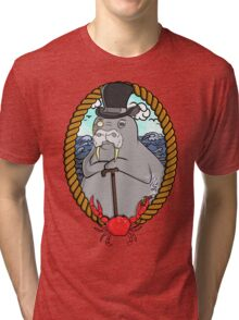 THE WALRUS  Tri-blend T-Shirt