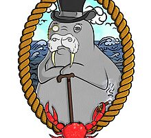 THE WALRUS  by chrisvalentine