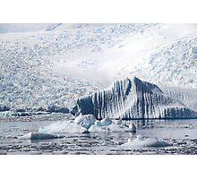 Cierva Cove with Iceberg & Glaciers  Photographic Print