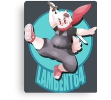 Lambent Cosplay Canvas Print