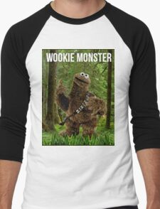 Wookie Monster Men's Baseball ¾ T-Shirt