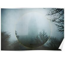 Cathedral in Fog  Poster