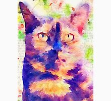 Tortie Mash Mixed Media Unisex T-Shirt