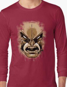 wolverine face Long Sleeve T-Shirt