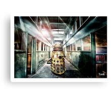 Dalek -  in the hallway. Canvas Print