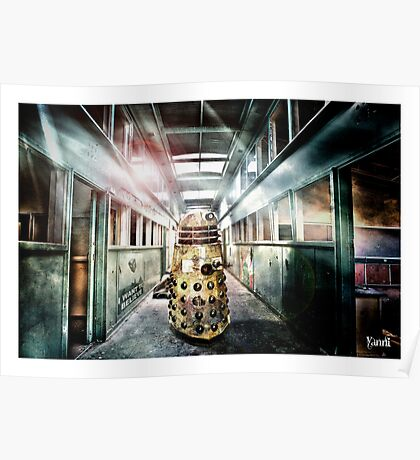 Dalek -  in the hallway. Poster