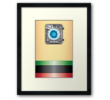 Powered by Atom_ Artprint Framed Print