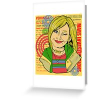 Veronica Mars Greeting Card
