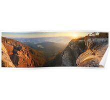 Mt Buffalo Gorge Dawn, Victoria, Australia Poster