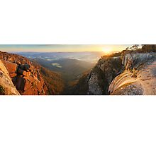 Mt Buffalo Gorge Dawn, Victoria, Australia Photographic Print