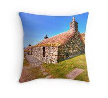 Gearrannan, Isle of Lewis Throw Pillow