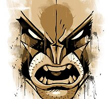 wolverine face by fathurdavega