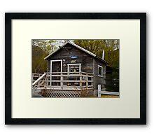 Alaska Wlderness home Framed Print
