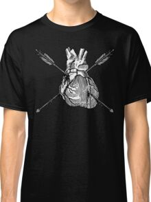 Valentine Heart With Arrows Classic T-Shirt