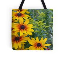 Yellow rudbeckia flower garden Tote Bag