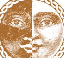 Team Faceless (Gold) Sticker