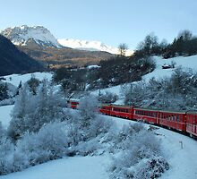 Bernina Express by Arie Koene