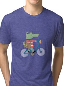 Croc Tri-blend T-Shirt