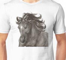 Running andalusian horse. Unisex T-Shirt