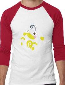 Politoed Splatter Men's Baseball ¾ T-Shirt