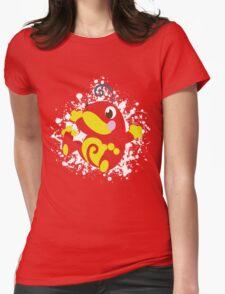 Politoed Splatter Womens Fitted T-Shirt