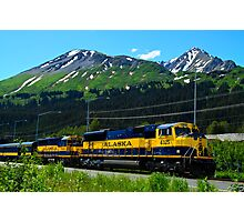 Alaska Locomotive Photographic Print