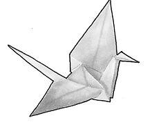 Origami Crane by chrisvalentine