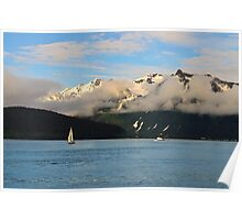Sailing Alaska Poster