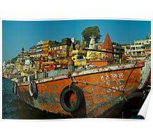 Varanasi India Poster