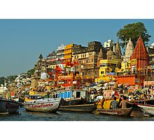 Ganges river India Photographic Print