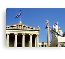 Greek heros Canvas Print