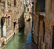 Back Street in Venice by Violaman