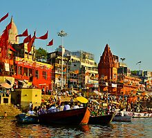 India holy river by raymona pooler