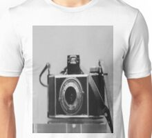 Black White Camera Unisex T-Shirt