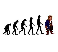 Guybrush Evolution Photographic Print