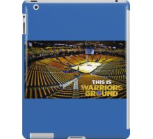 Golden State Warriors Stadium iPad Case/Skin