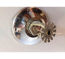 fire sprinkler, h Photographic Print