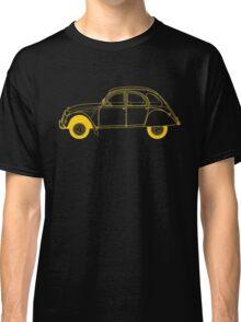 Yellow Citroën 2CV Classic T-Shirt