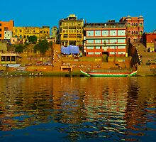 Reflections on the Ganges   by raymona pooler
