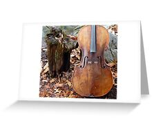 The Nature of Counterpoint  Greeting Card