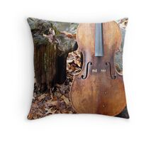 The Nature of Counterpoint  Throw Pillow