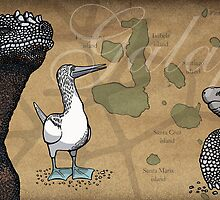 Galapagos species by Carl Conway