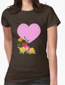 Heart & Flowers T-Shirt
