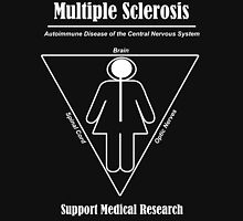 Multiple Sclerosis Awareness Womens Fitted T-Shirt