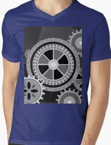 Charlie Chaplin's Modern Times Mens V-Neck T-Shirt