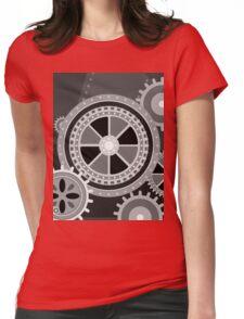 Charlie Chaplin's Modern Times Womens Fitted T-Shirt