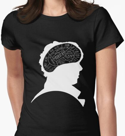 Mind Palace 2 Womens Fitted T-Shirt